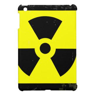 Worn Radioactive Warning Symbol iPad Mini Cases