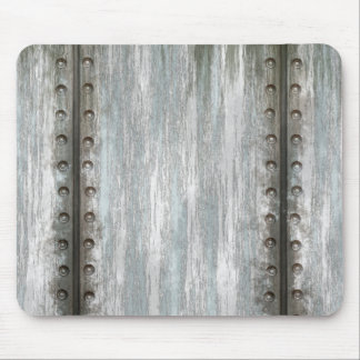 Worn Riveted Metal Grunge Textured Mouse Pads