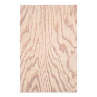Worn wood grain stationery