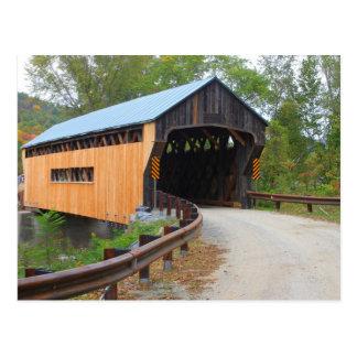 Worral Covered Bridge Vermont Portal Postcard