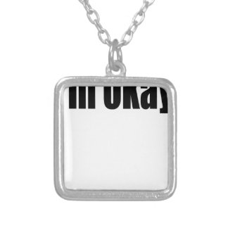worrying worry black worried okay couple teenager silver plated necklace