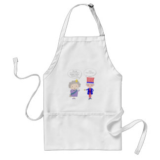 Worse Than Brexit? Queen UK • Hold My Beer • Trump Standard Apron
