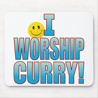 Worship Curry Life B Mouse Pad