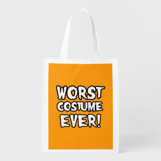 WORST COSTUME EVER - Halloween - png Market Tote