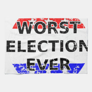 Worst Election Ever Hand Towels