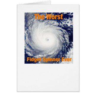 Worst Fidget Spinner Ever Card
