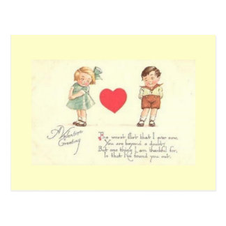 Worst Flirt Valetine's Greeting Postcard