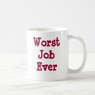 Worst Job Ever Coffee Mug