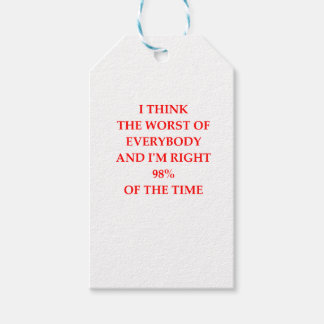 WORST PACK OF GIFT TAGS