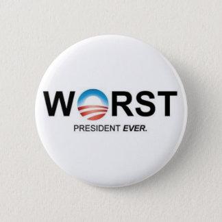 Worst President Ever 2 Inch Round Button