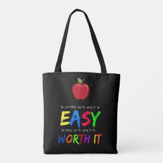 Worth it tote bag
