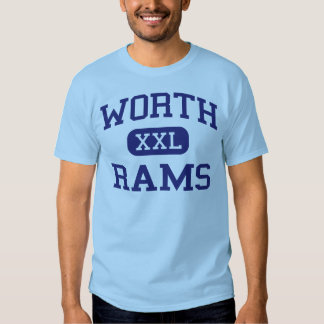 Worth - Rams - Junior High School - Worth Illinois T-shirts