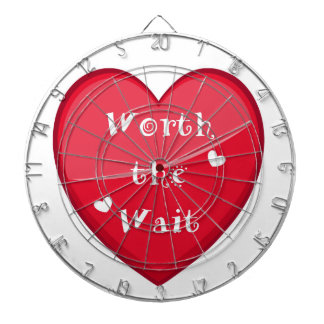 Worth the Wait - Adoption - New Baby Dartboard