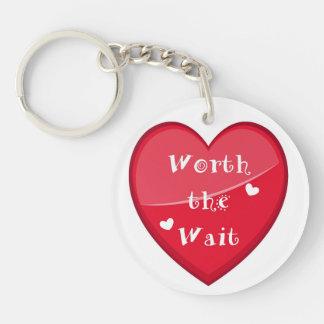 Worth the Wait - Adoption - New Baby Keychain
