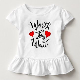 Worth the Wait Style: Toddler Ruffle Tee