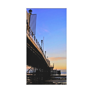 Worthing Pier at Sunset Canvas Print