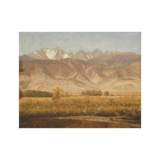 Worthington Whittredge - Foothills Colorado Canvas Print