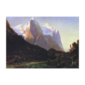 Worthington Whittredge The Wetterhorn Canvas Print