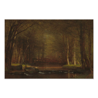 Worthington Whittredge - Trout Brook Poster