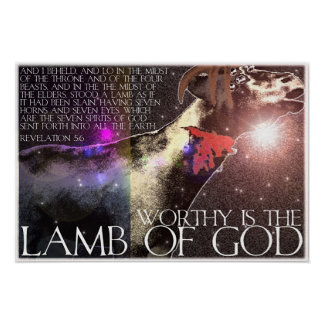 Worthy is the Lamb Poster