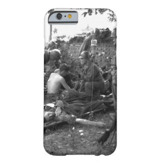 Wounded American soldiers are given_War Image Barely There iPhone 6 Case