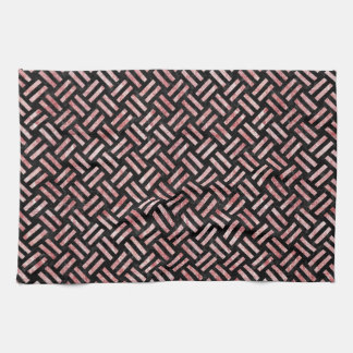WOV2 BK-RW MARBLE TOWELS