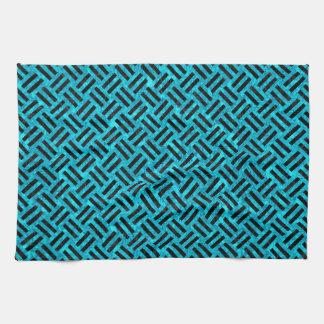 WOV2 BK-TQ MARBLE (R) TOWEL