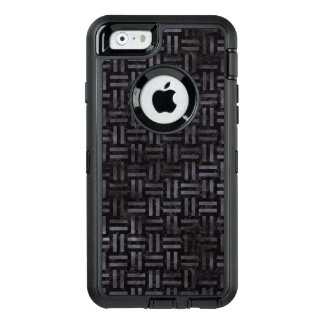 WOVEN1 BLACK MARBLE & BLACK WATERCOLOR OtterBox DEFENDER iPhone CASE