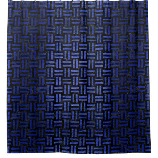 WOVEN1 BLACK MARBLE & BLUE BRUSHED METAL