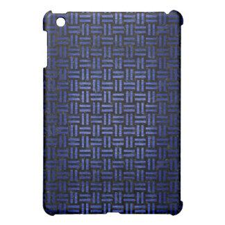 WOVEN1 BLACK MARBLE & BLUE BRUSHED METAL iPad MINI COVER
