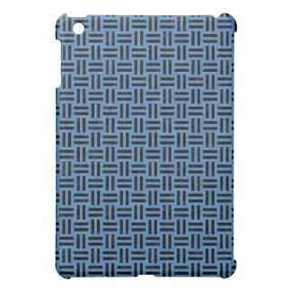WOVEN1 BLACK MARBLE & BLUE COLORED PENCIL (R) iPad MINI CASES