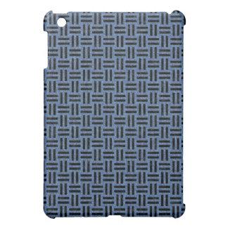 WOVEN1 BLACK MARBLE & BLUE DENIM (R) iPad MINI COVERS