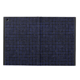 WOVEN1 BLACK MARBLE & BLUE LEATHER iPad AIR COVER