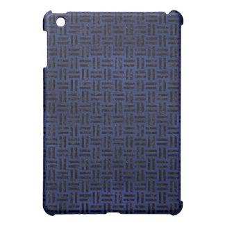 WOVEN1 BLACK MARBLE & BLUE LEATHER (R) iPad MINI COVER