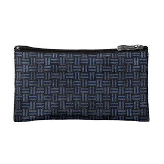 WOVEN1 BLACK MARBLE & BLUE STONE MAKEUP BAG