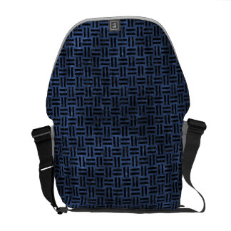 WOVEN1 BLACK MARBLE & BLUE STONE (R) COMMUTER BAG