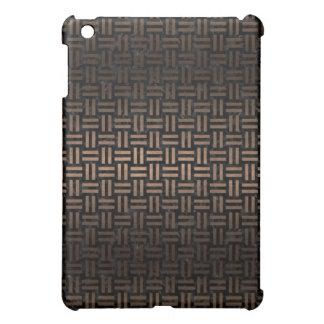 WOVEN1 BLACK MARBLE & BRONZE METAL iPad MINI COVER