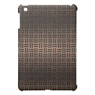 WOVEN1 BLACK MARBLE & BRONZE METAL (R) iPad MINI CASES