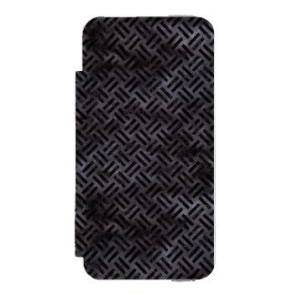 WOVEN2 BLACK MARBLE & BLACK WATERCOLOR (R) INCIPIO WATSON™ iPhone 5 WALLET CASE