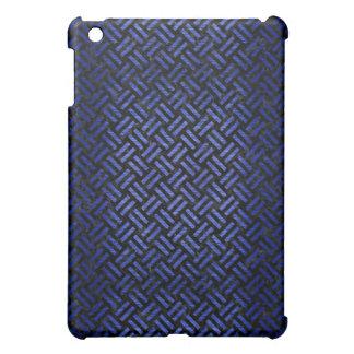 WOVEN2 BLACK MARBLE & BLUE BRUSHED METAL iPad MINI CASE