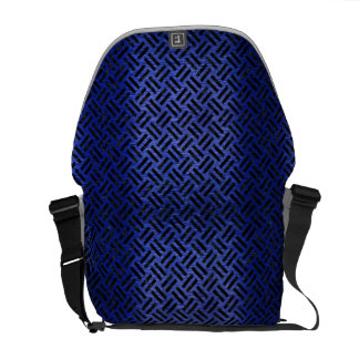 WOVEN2 BLACK MARBLE & BLUE BRUSHED METAL (R) COMMUTER BAG