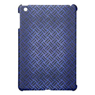 WOVEN2 BLACK MARBLE & BLUE BRUSHED METAL (R) iPad MINI COVER