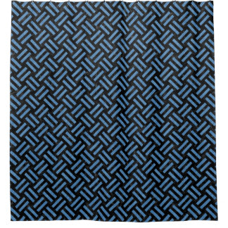 WOVEN2 BLACK MARBLE & BLUE COLORED PENCIL