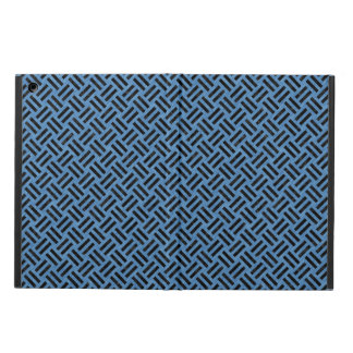 WOVEN2 BLACK MARBLE & BLUE COLORED PENCIL (R) iPad AIR COVER