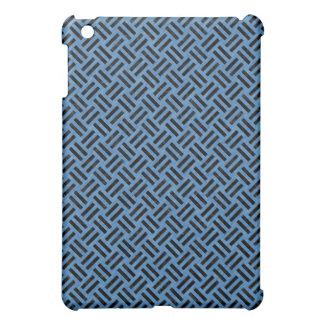 WOVEN2 BLACK MARBLE & BLUE COLORED PENCIL (R) iPad MINI COVERS