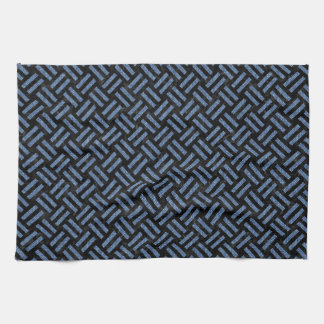 WOVEN2 BLACK MARBLE & BLUE DENIM KITCHEN TOWEL