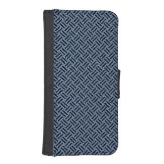 WOVEN2 BLACK MARBLE & BLUE DENIM (R) iPhone SE/5/5s WALLET CASE