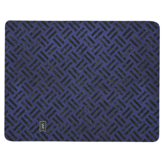 WOVEN2 BLACK MARBLE & BLUE LEATHER (R) JOURNAL
