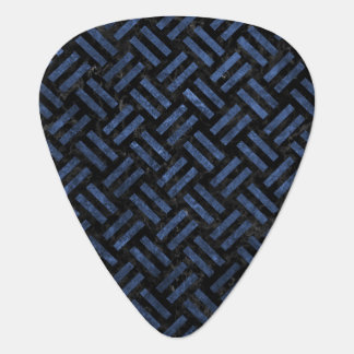 WOVEN2 BLACK MARBLE & BLUE STONE GUITAR PICK