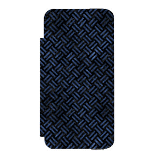 WOVEN2 BLACK MARBLE & BLUE STONE INCIPIO WATSON™ iPhone 5 WALLET CASE